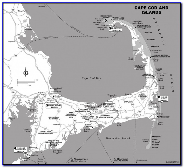 Cape Cod Flood Maps