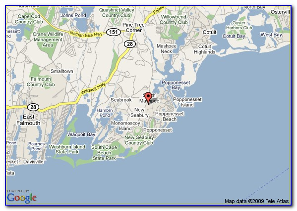 Cape Cod Kayaking Maps