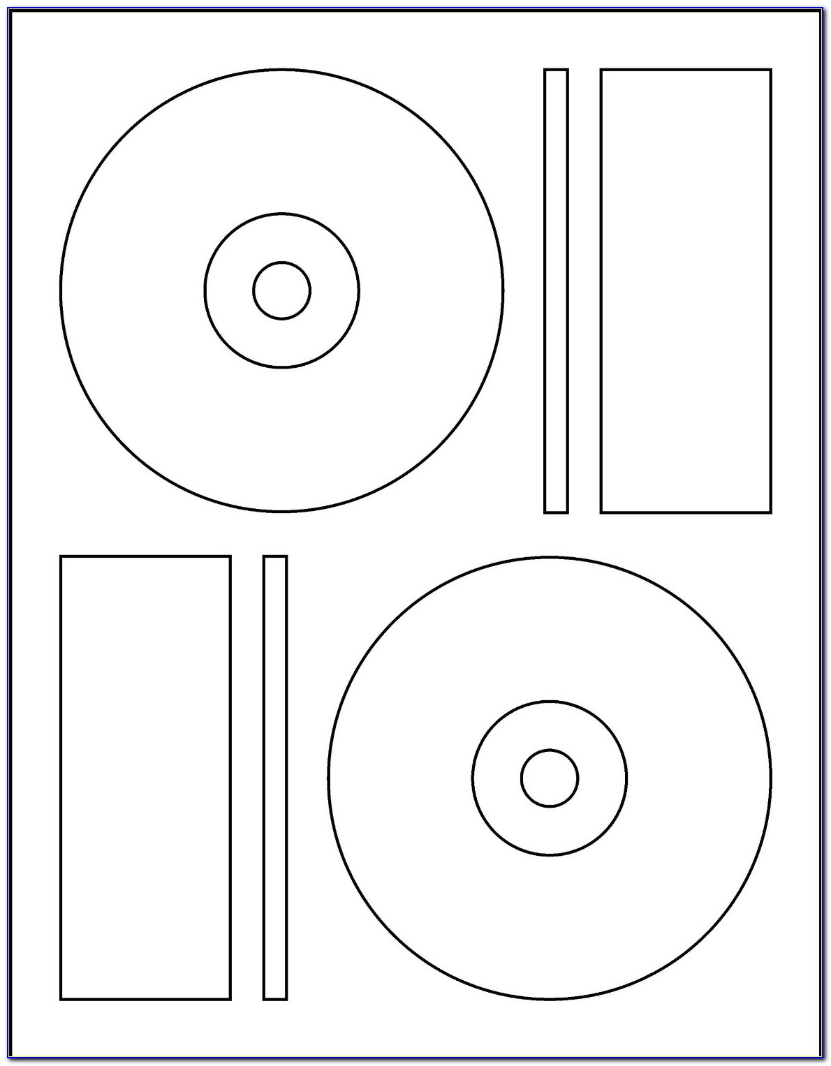 Cd Labels Templates