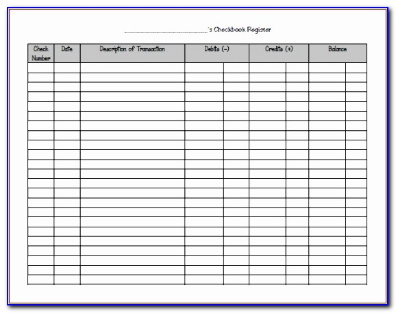 Microsoft Excel Check Register Template Bilpy Awesome 9 Excel Checkbook Register Templates Excel Templates Vincegray2014