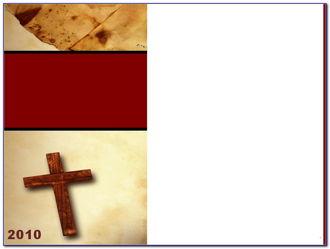Christian Character Certificate Templates