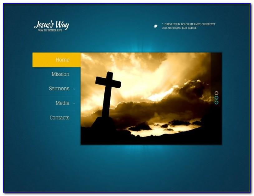 Christian Church Website Templates Free Download