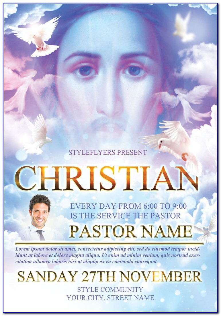 Christian Flyer Templates Free Download