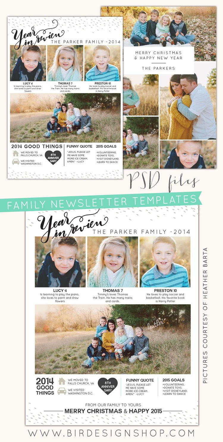Christmas Card Template Photoshop Free Download