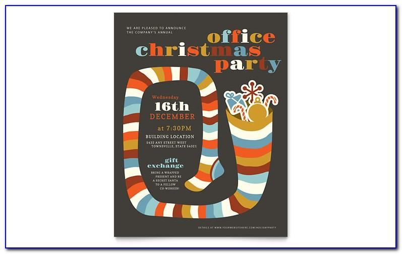 Christmas Flyer Templates Microsoft Publisher