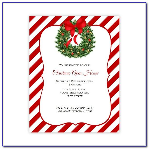 Christmas Party Flyer Template Microsoft Office