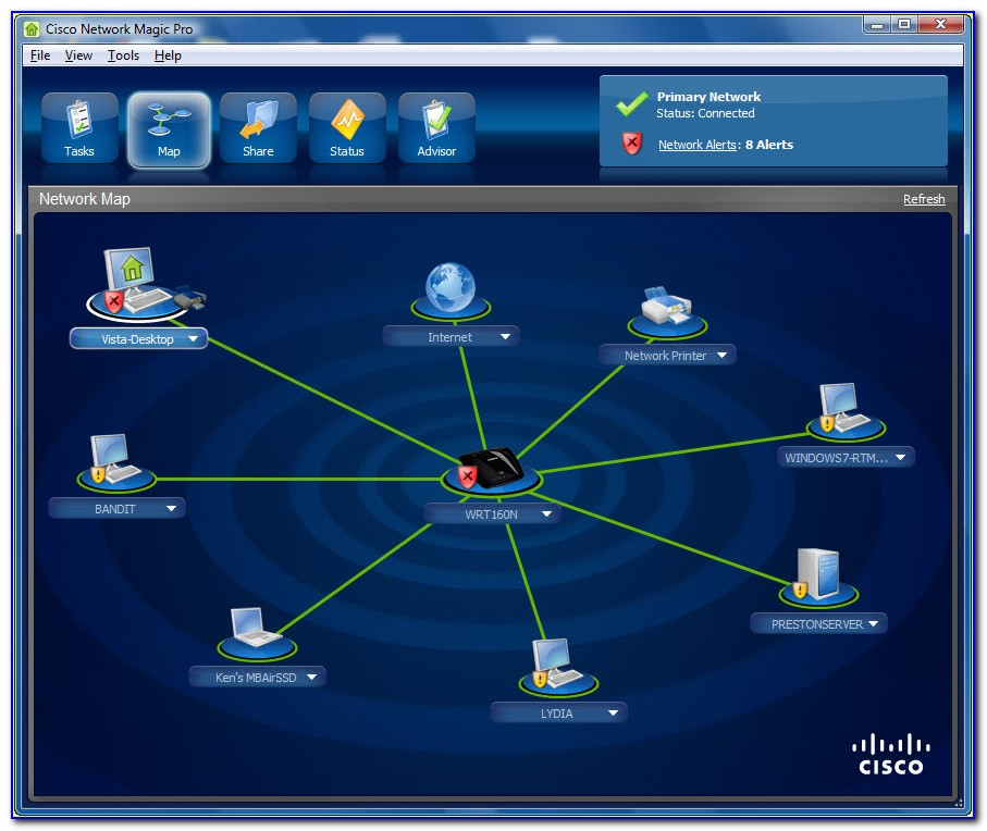 Cisco Network Mapping Tool