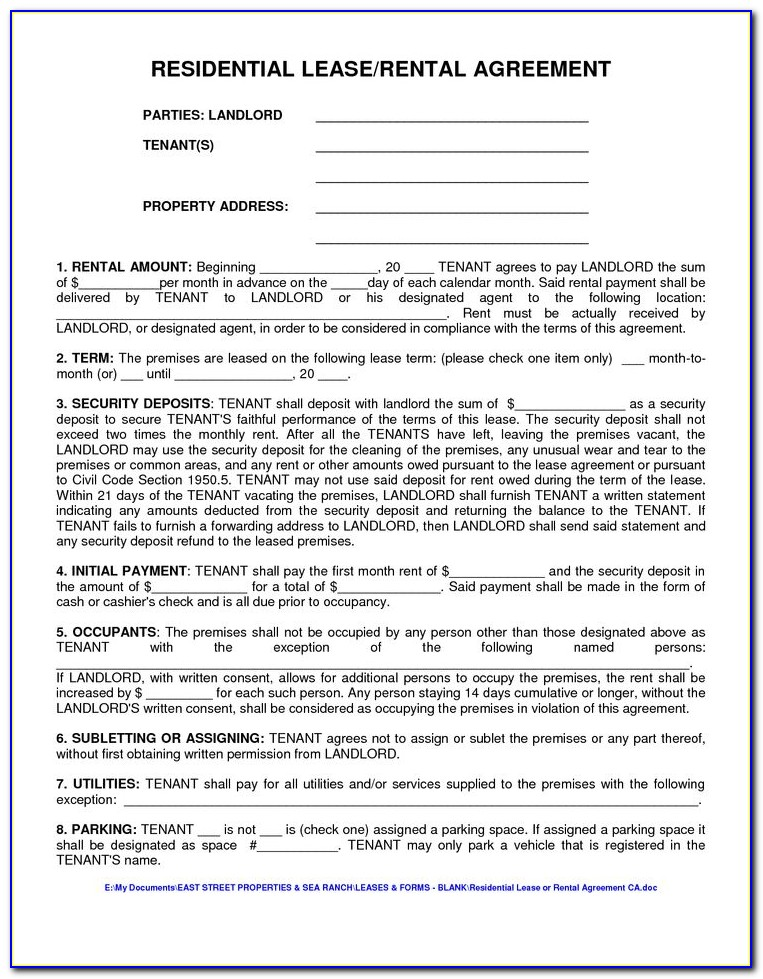 City Of Chicago Apartment Lease Form