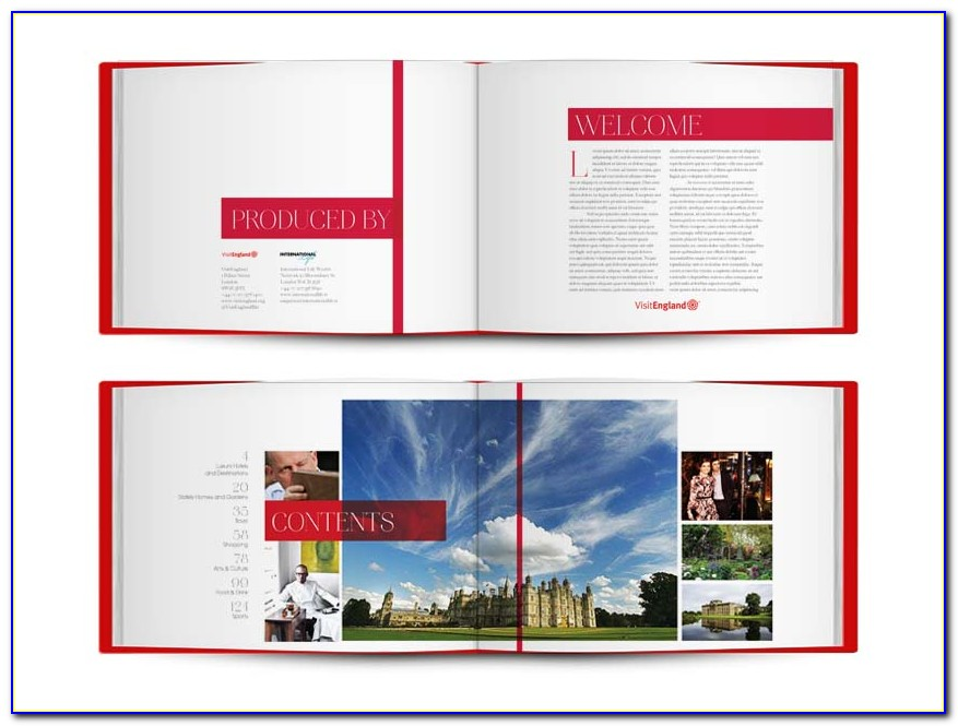 Coffee Table Book Psd Template