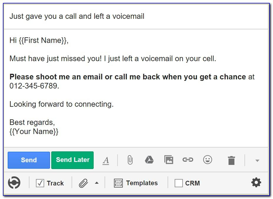 Cold Call Business Email Template