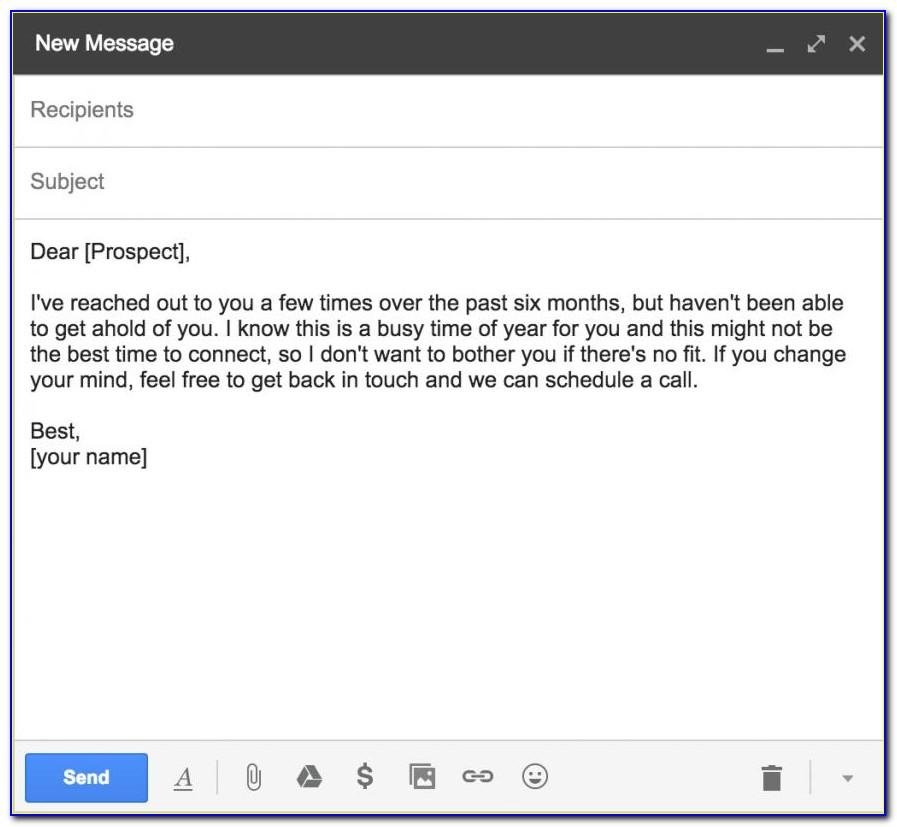 Cold Prospecting Email Templates