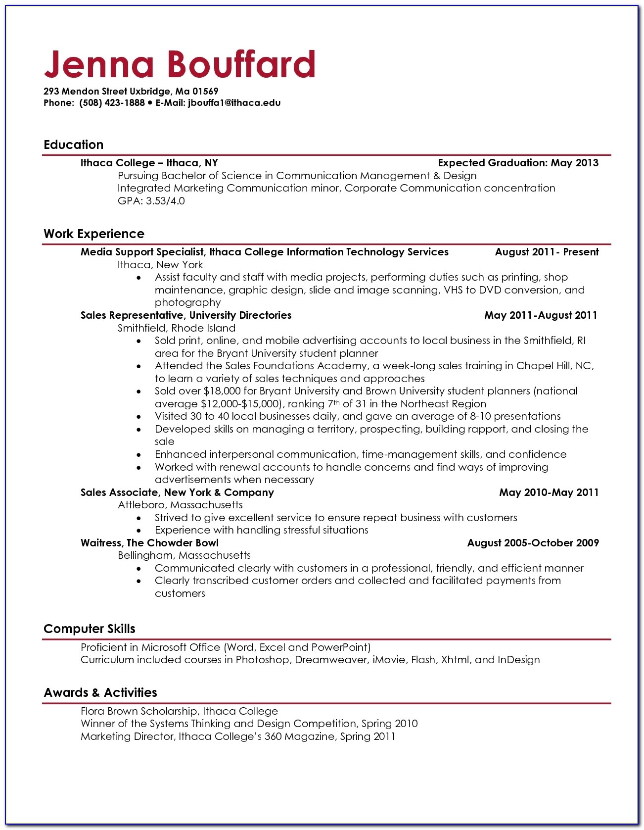 Sales Resume For College Students Ee397ae36 Nice Examples Of Resume For College Students