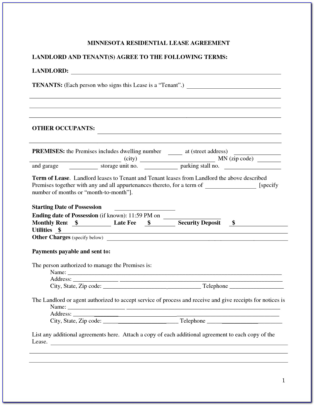 Commercial Lease Form Nsw Free