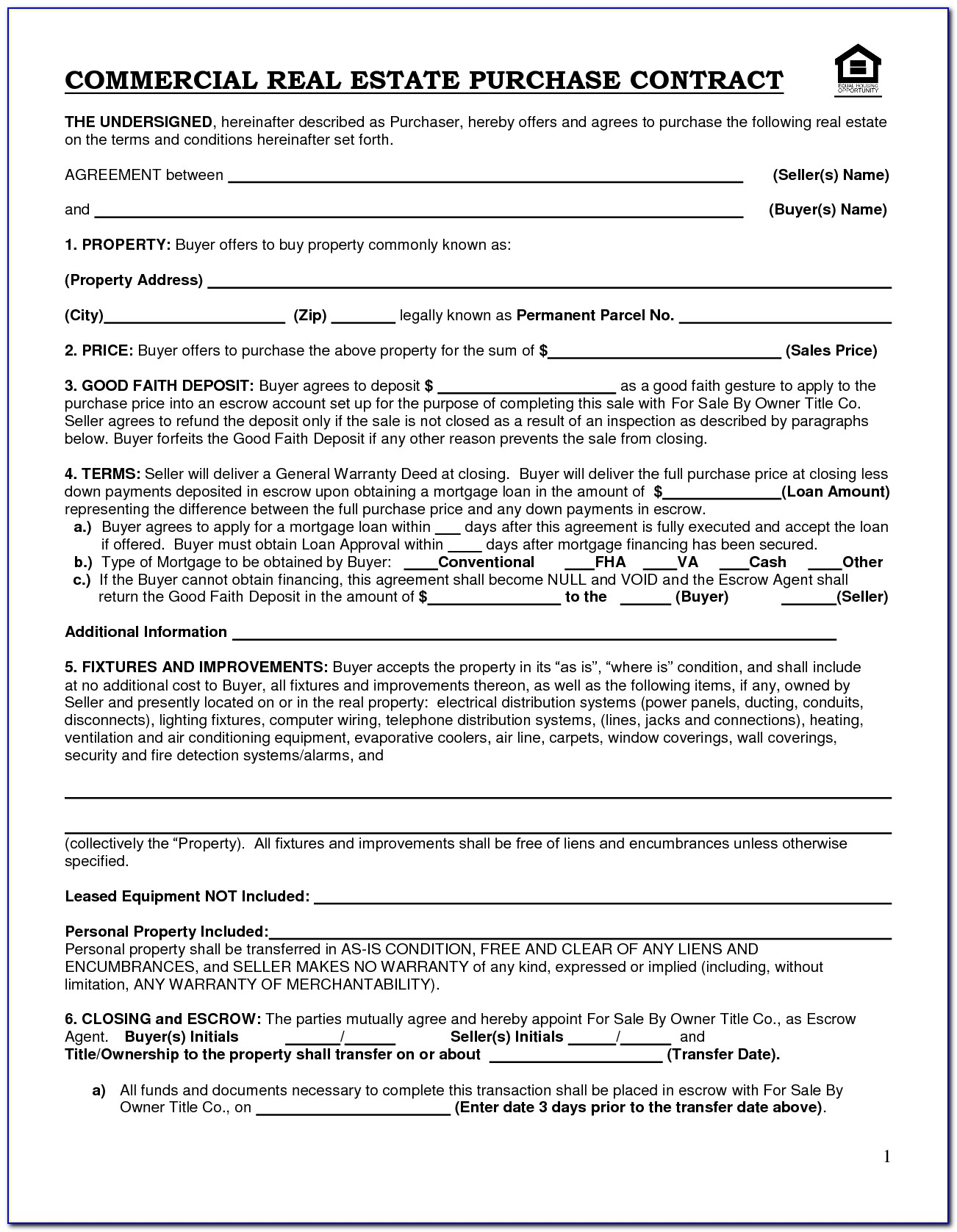 Commercial Lease Forms Queensland