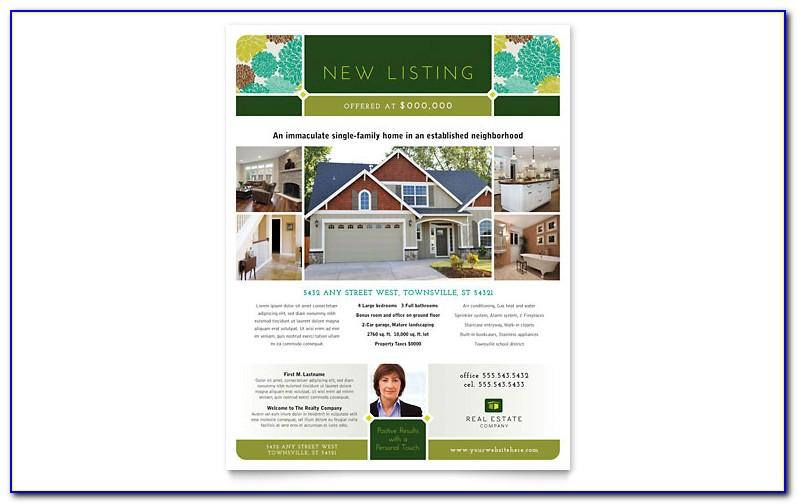 Commercial Real Estate Flyer Template Publisher