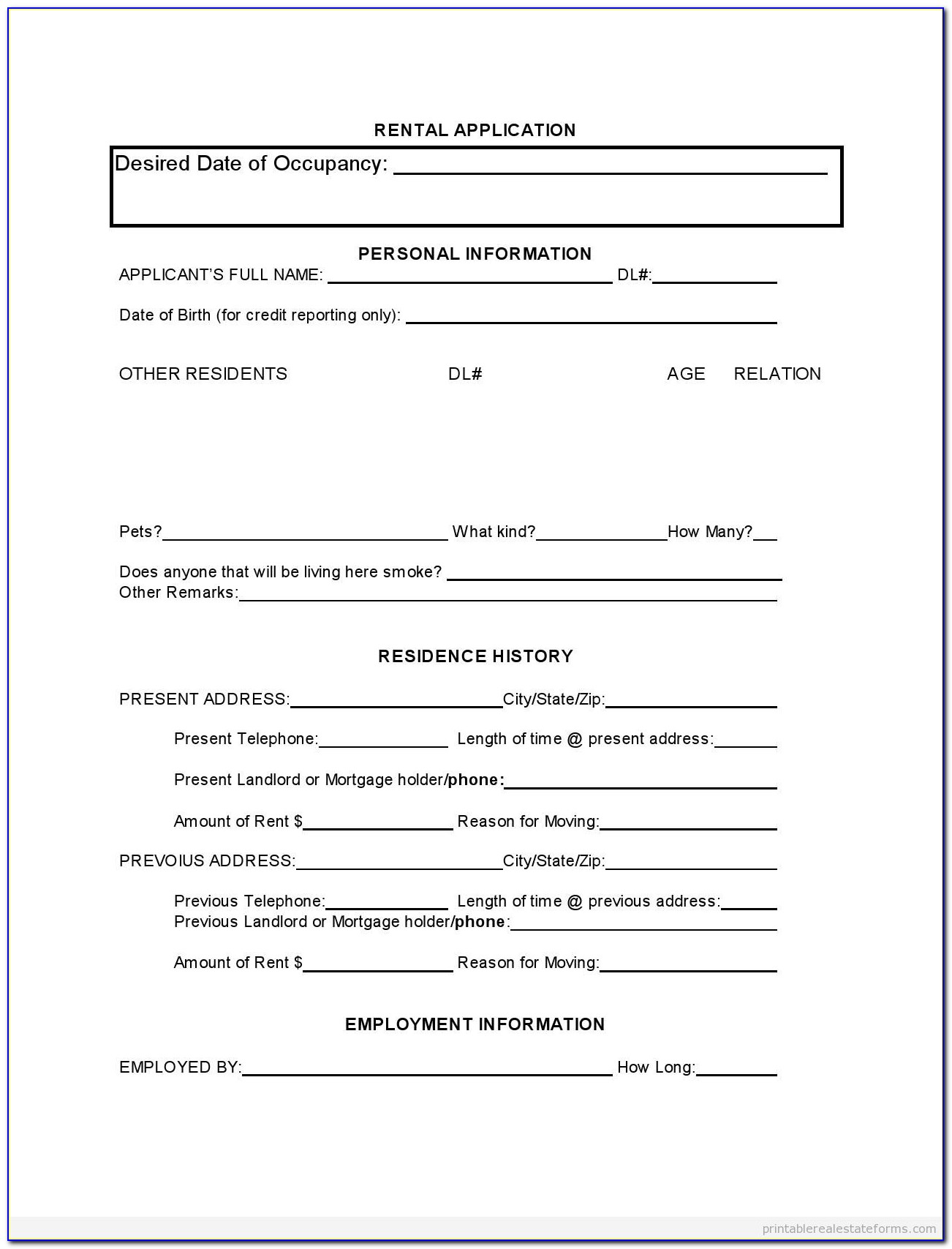 Commercial Rent Increase Forms