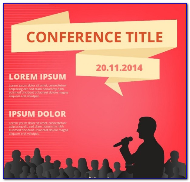Conference Event Flyer Template