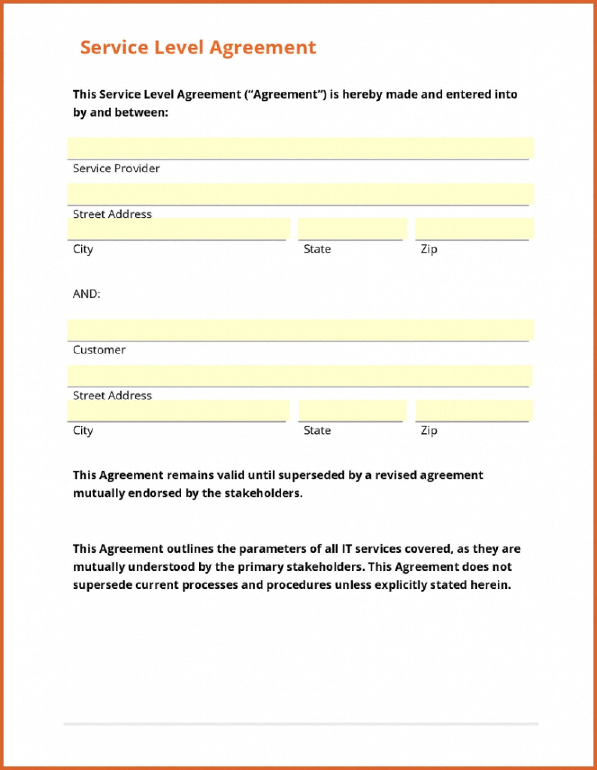 003 Template Ideasice Agreement Form Free Contract Us Sample Simple Free Printable Service Contract Forms
