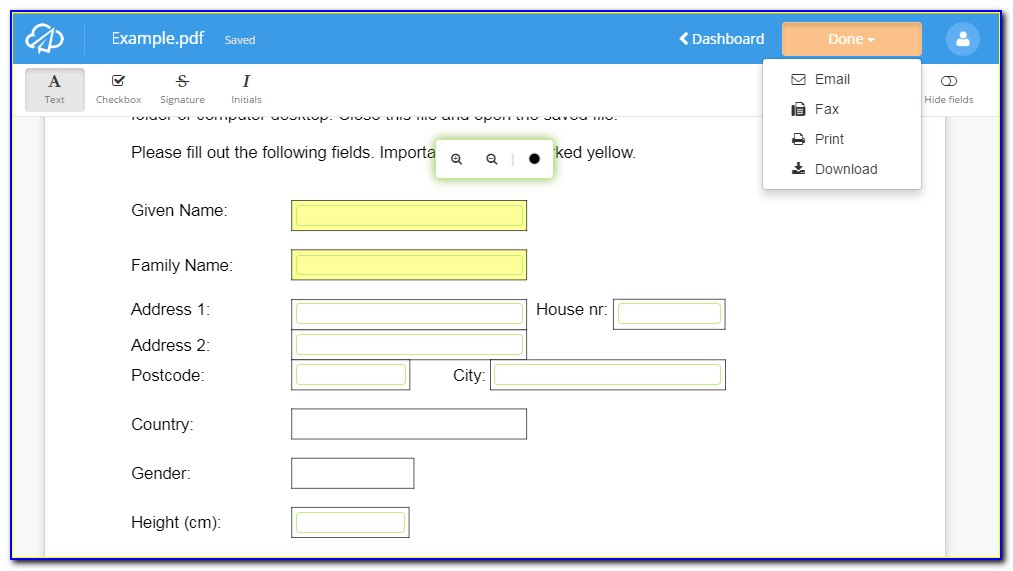 Convert Pdf Into Fillable Form Online Free