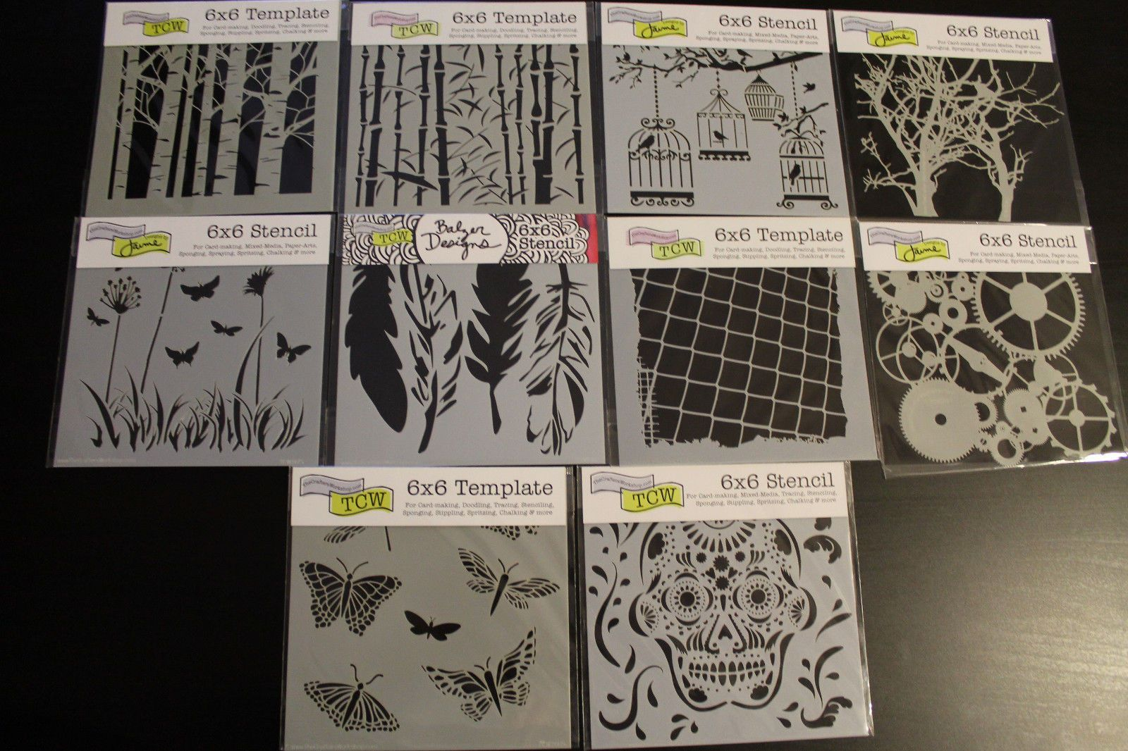 Crafters Workshop Templates And Stencils
