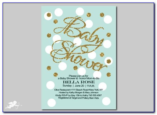 Create Free Baby Shower Invitation Templates
