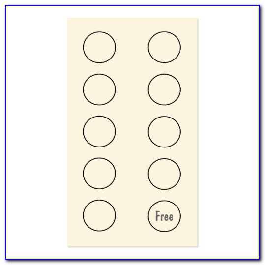Create Loyalty Punch Card