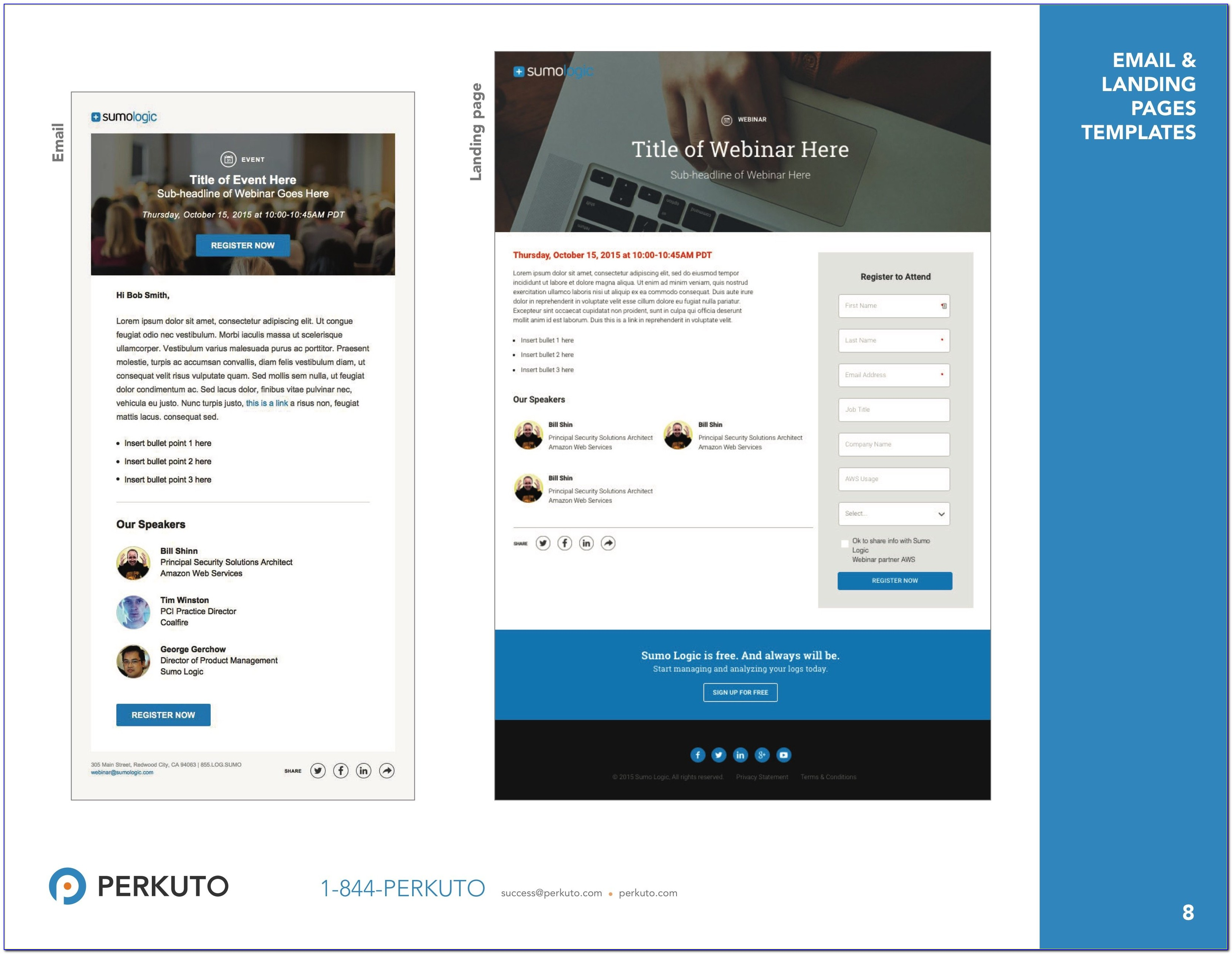 Create Marketo Landing Page Template