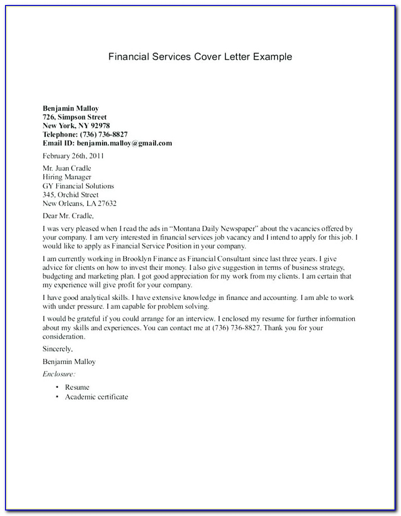 Customer Service Cover Letter Samples Free