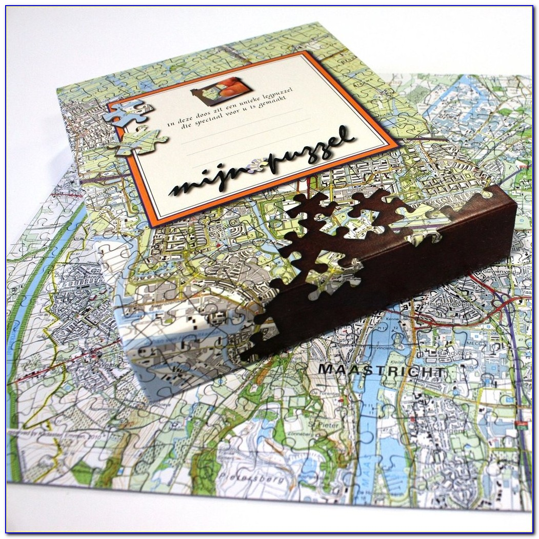 Customised Jigsaw Map