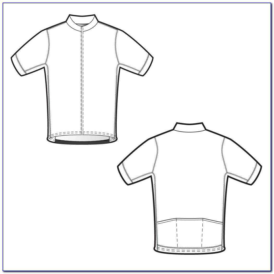 Cycle Jersey Design Templates
