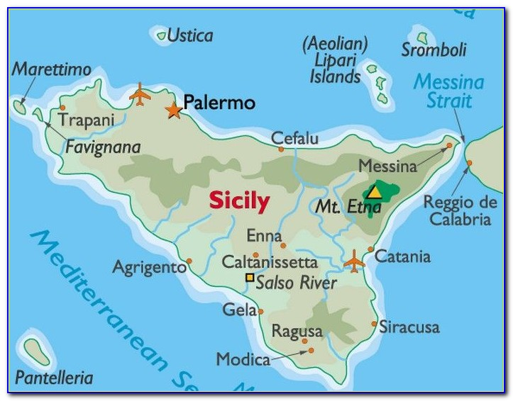 Cycle Maps Of Sicily