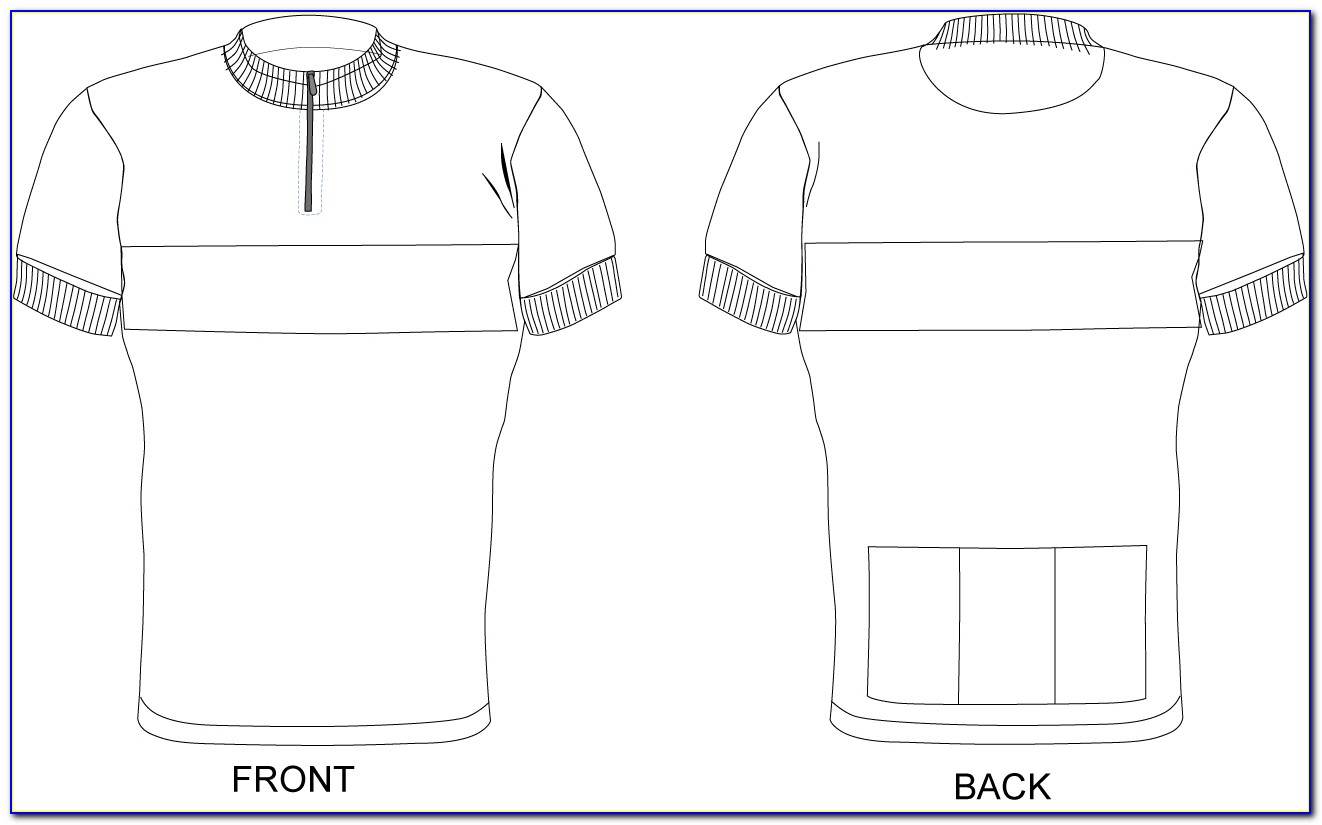 Cycling Jersey Design Templates