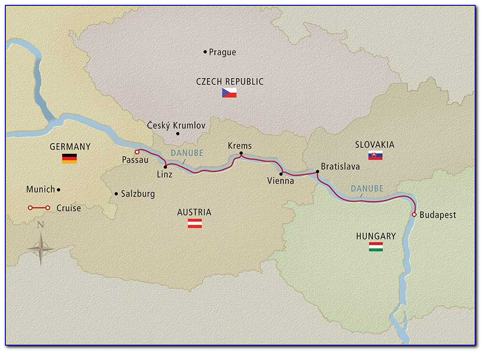 Danube River Cruise Routes