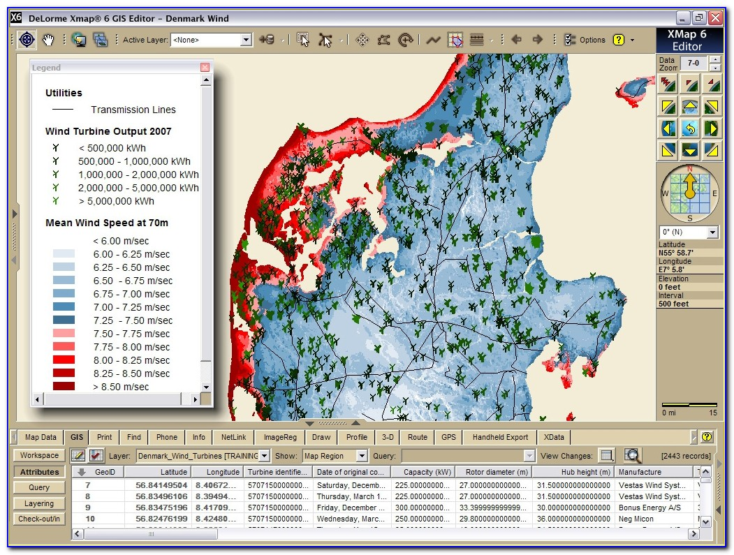 Delorme Mapping Software