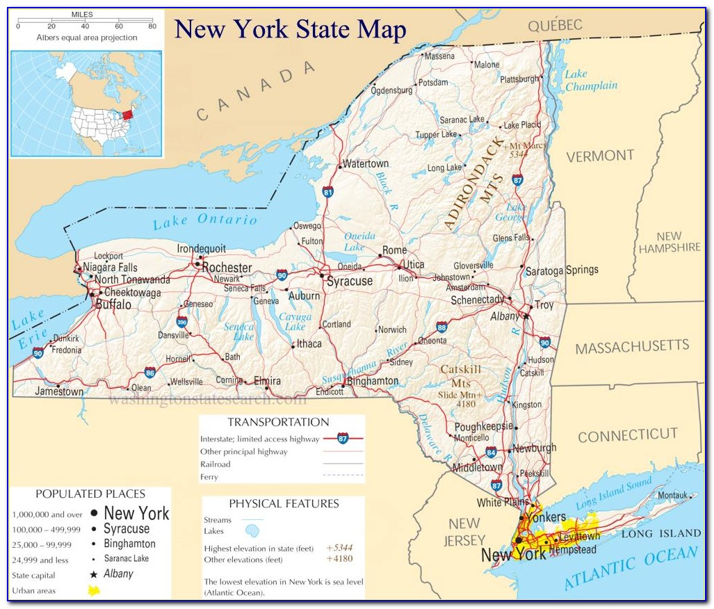 Detailed Map Of Nyc Downtown