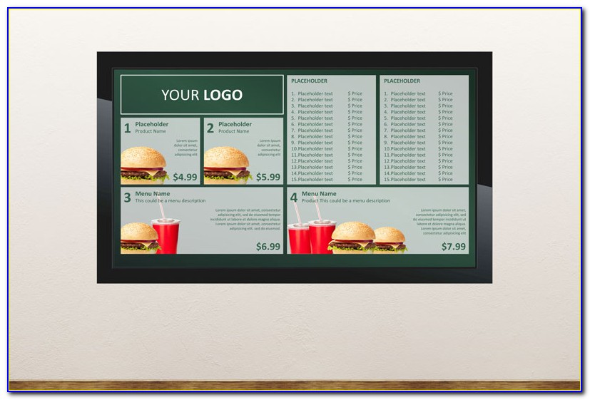 Digital Signage Powerpoint Template Download