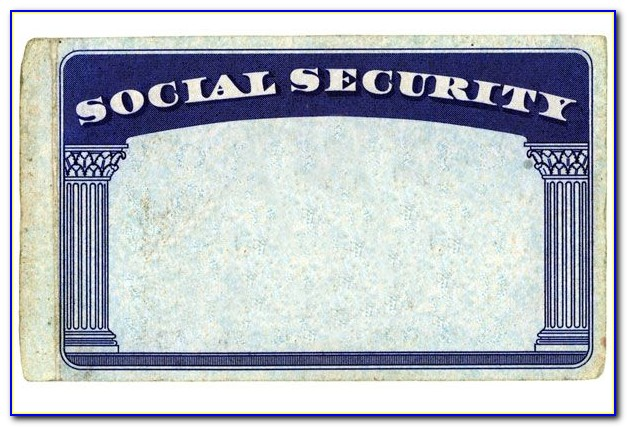 Download Editable Social Security Card Template