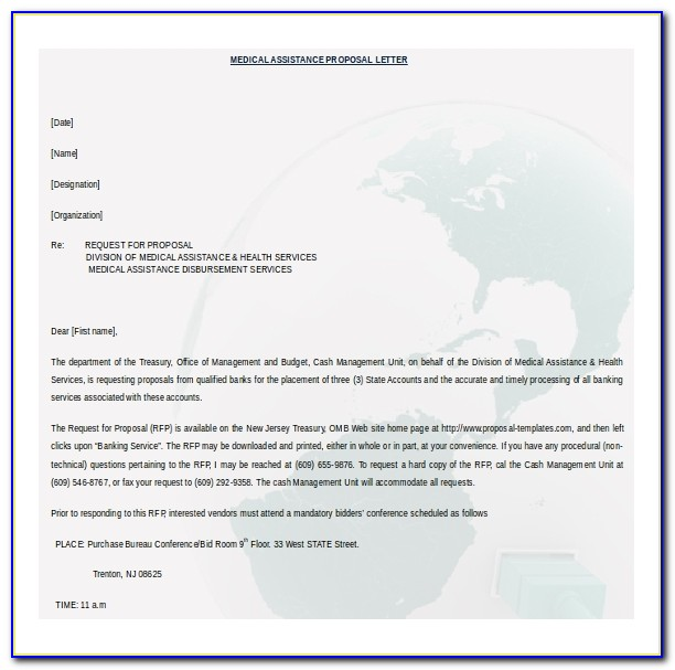 Download Free Business Proposal Template Doc