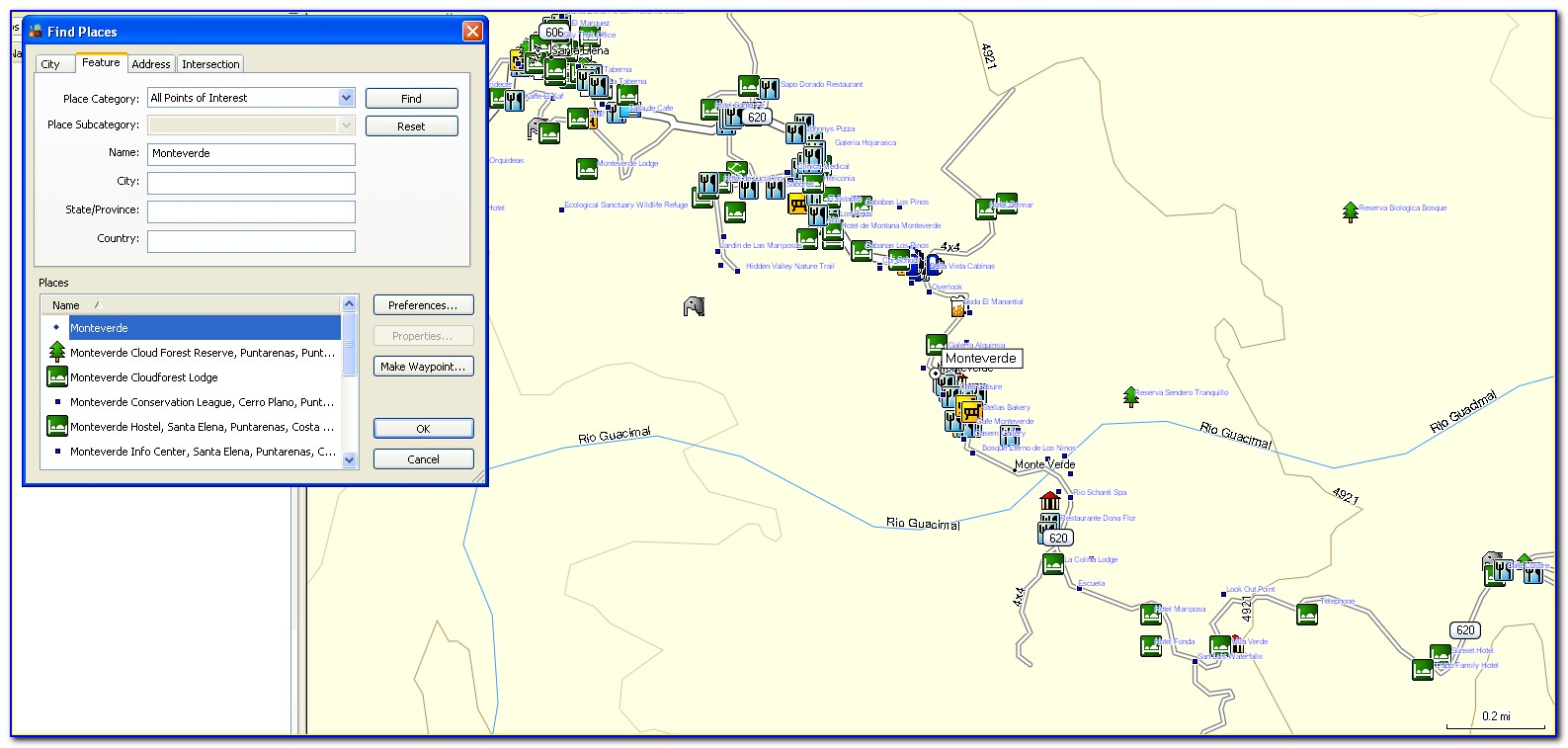 Download Free Gps Maps Costa Rica