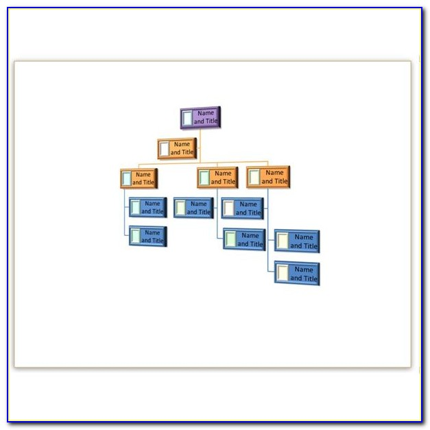 Download Picture Organizational Chart Template For Powerpoint