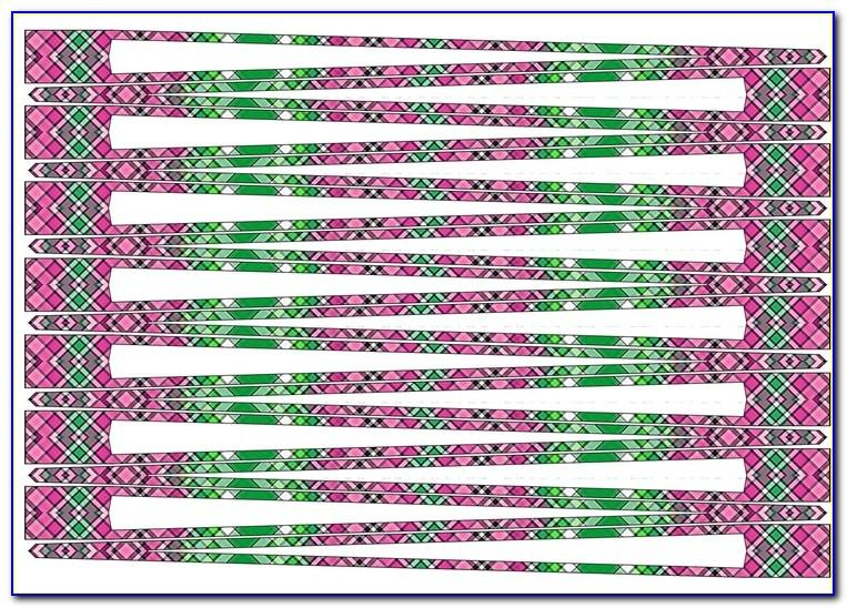 Downloadable Paper Bead Templates