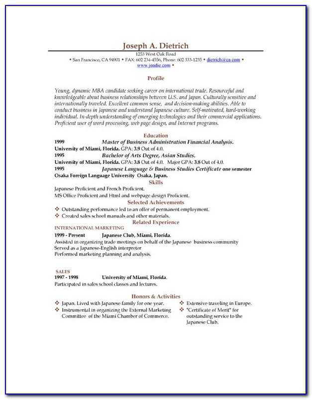Downloadable Resume Templates Word Free