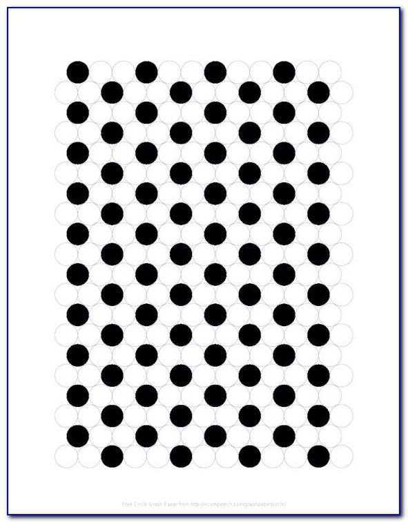 Drill Hole Size Template