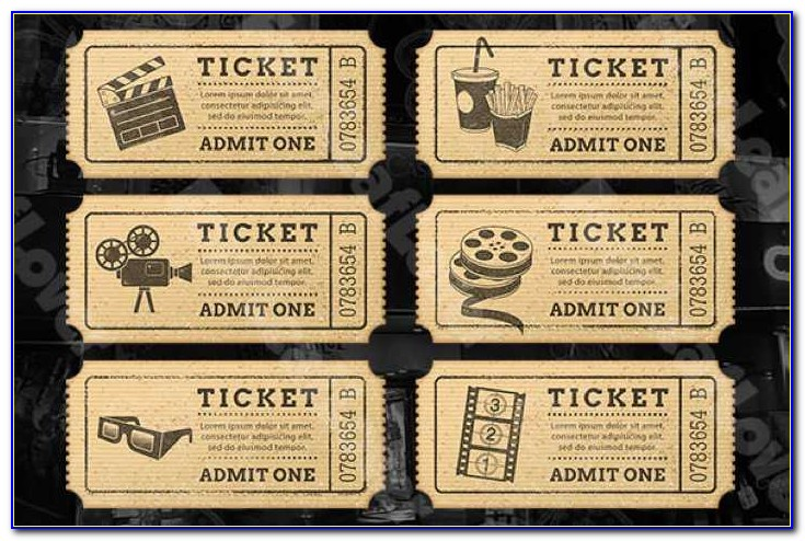 Drink Ticket Template Free Download