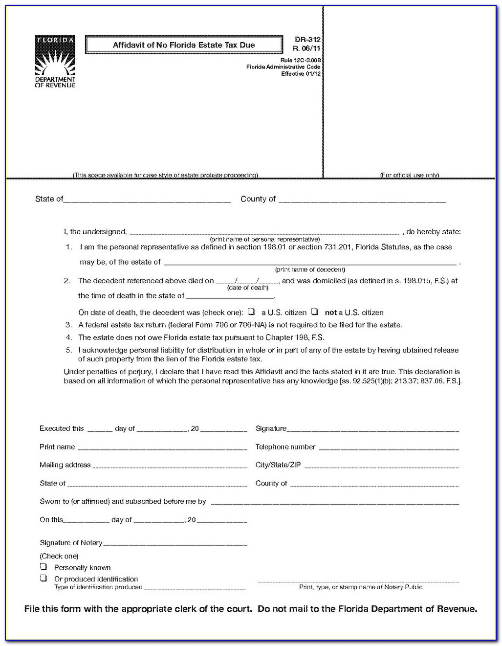 Duval County Court Forms
