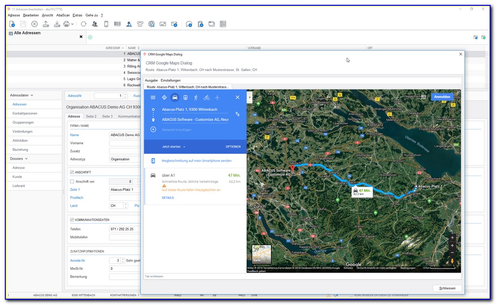 Dynamics Crm Google Maps Integration