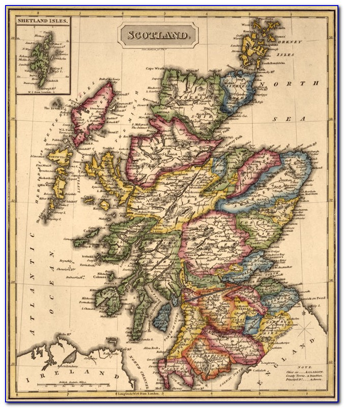 Early Maps Of Scotland To 1850