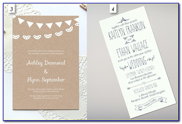 Editable Invitation Templates Free Download