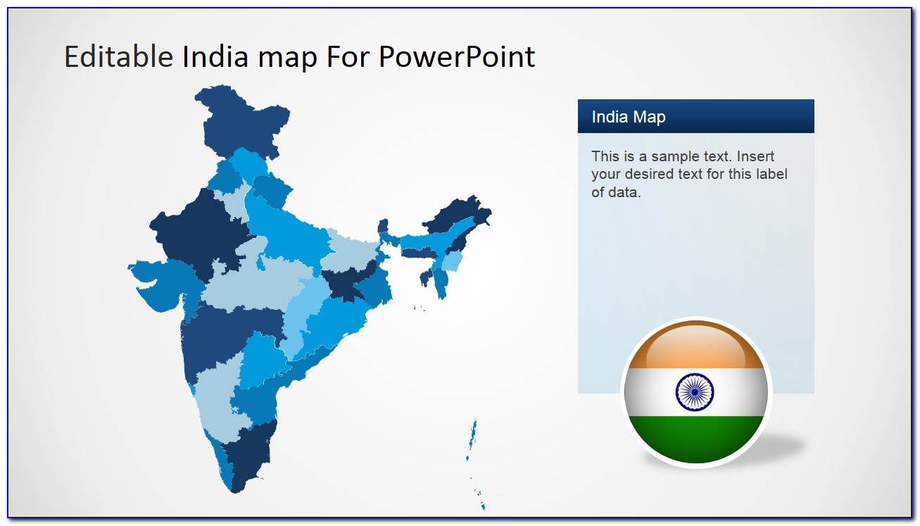 Editable Map In Powerpoint