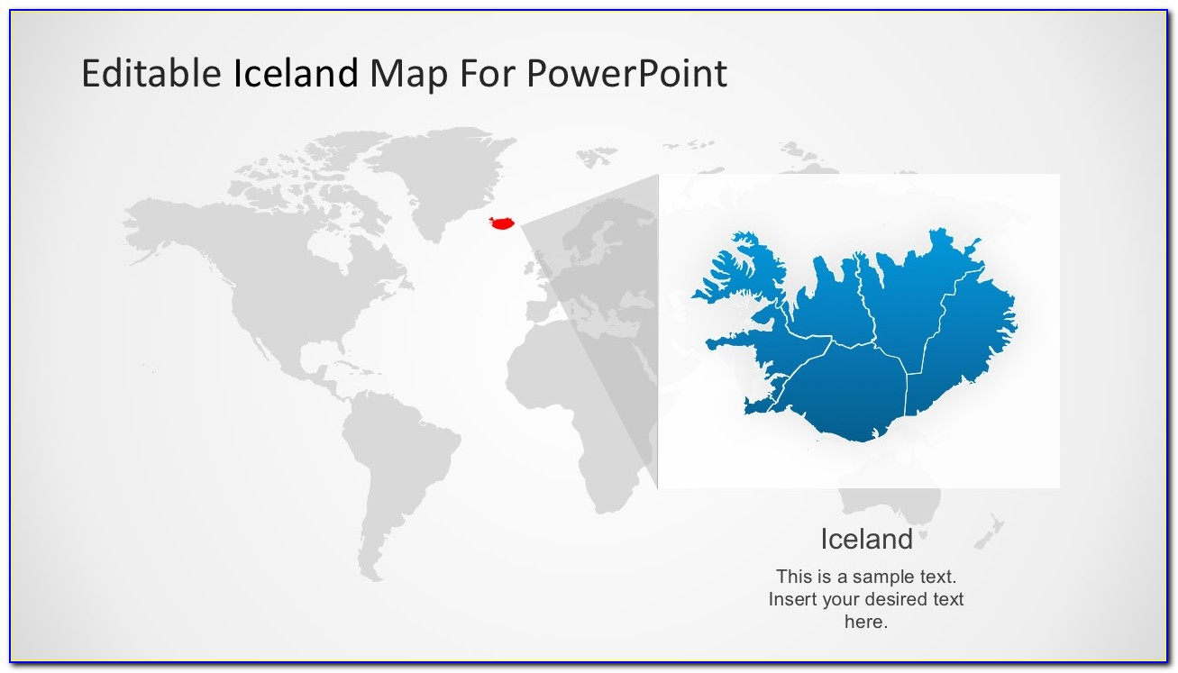 Editable Powerpoint Map Indonesia